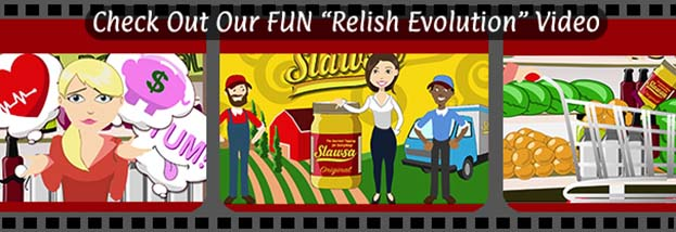Check out out FUN Relish Revolution Video